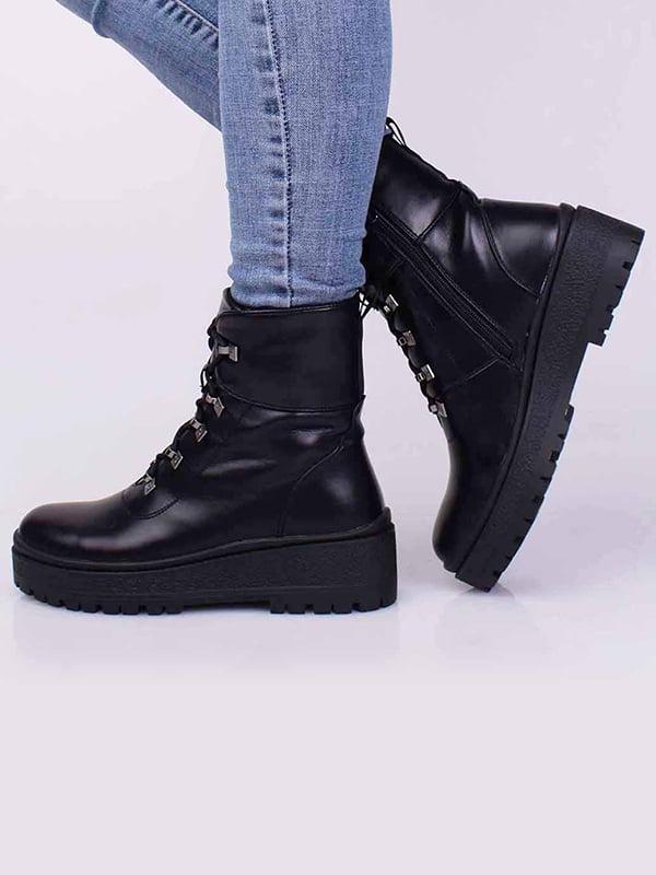 Ботинки черные   5650461