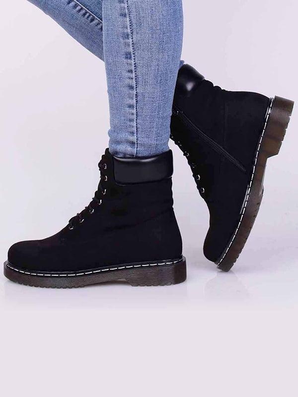 Ботинки черные   5650472