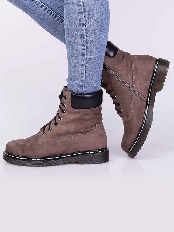 Ботинки цвета кофе | 5650473