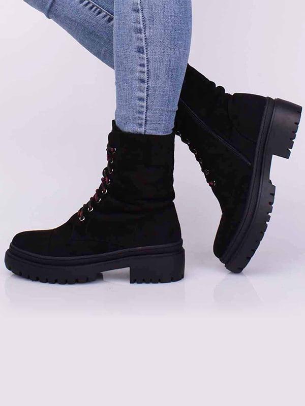 Ботинки черные | 5650480