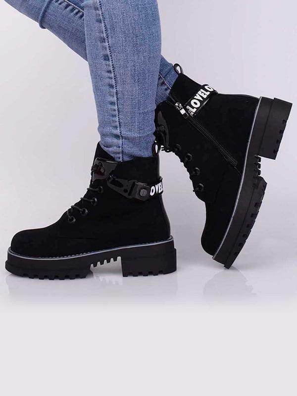 Ботинки черные | 5650482