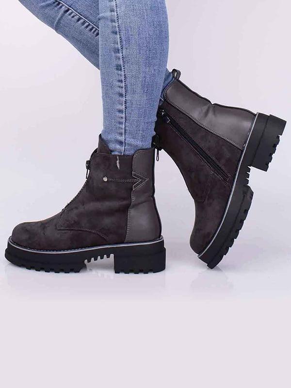 Ботинки серые | 5650484