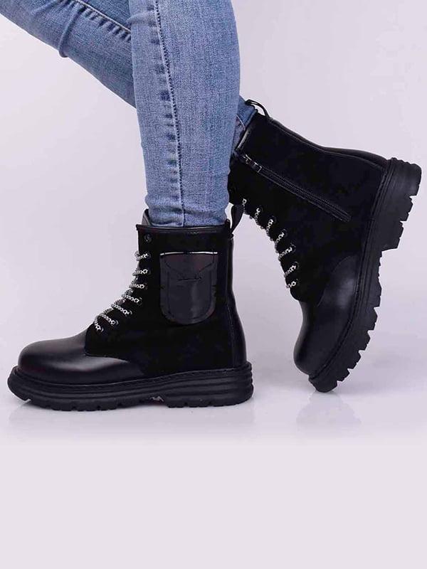 Ботинки черные | 5650489