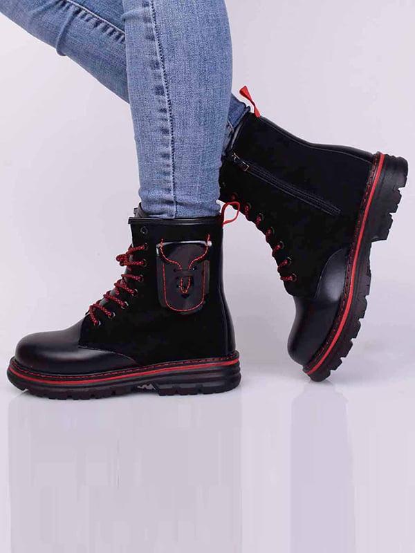 Ботинки черные | 5650491