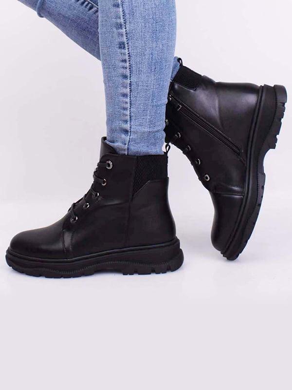 Ботинки черные | 5650507
