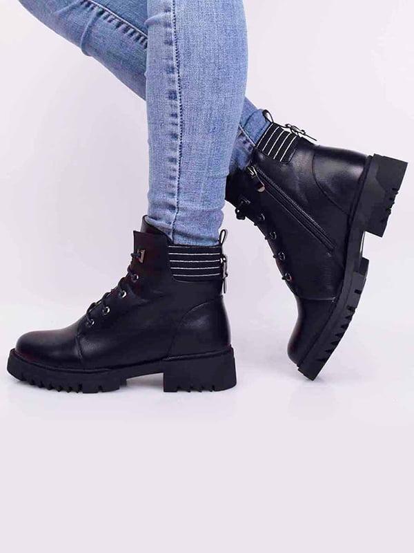 Ботинки черные | 5650508
