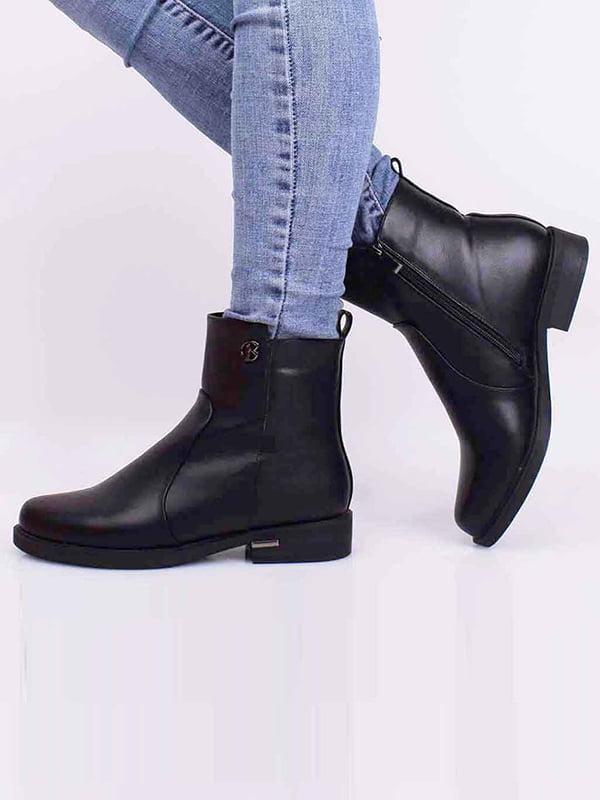 Ботинки черные   5650510