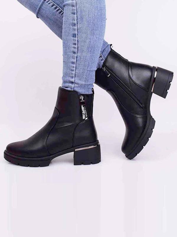 Ботинки черные | 5650512