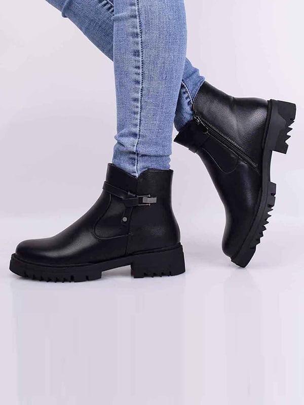 Ботинки черные | 5650525