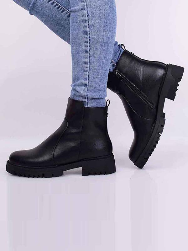 Ботинки черные   5650528