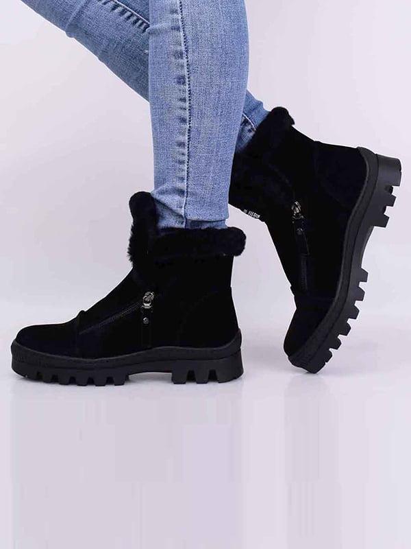 Ботинки черные | 5650537