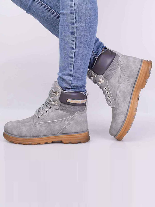 Ботинки серые | 5650598