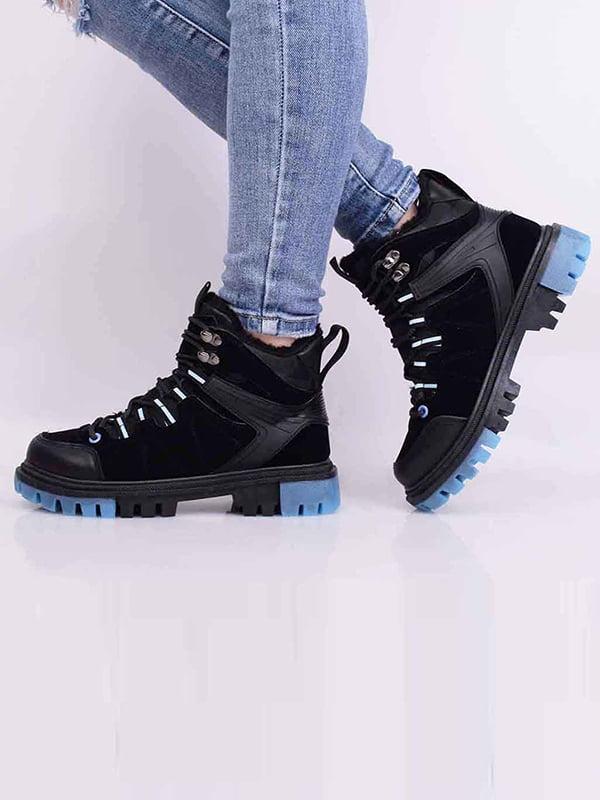 Ботинки черные | 5650607
