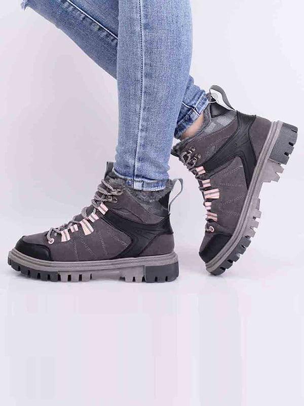 Ботинки серые | 5650608