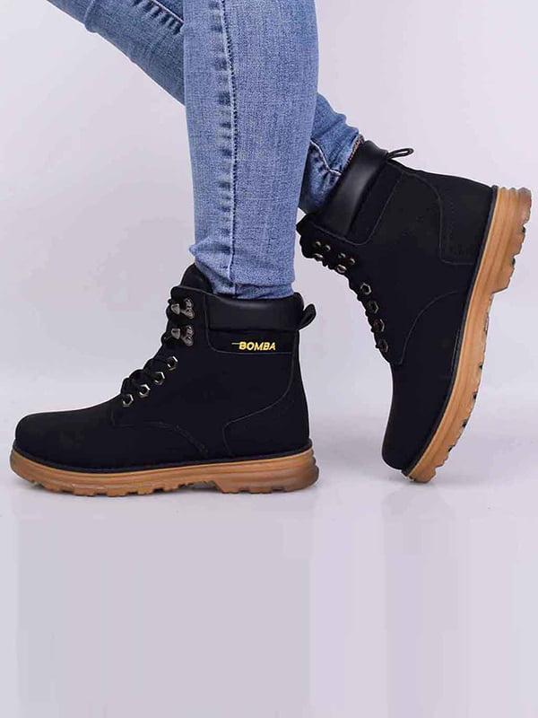 Ботинки черные | 5650613