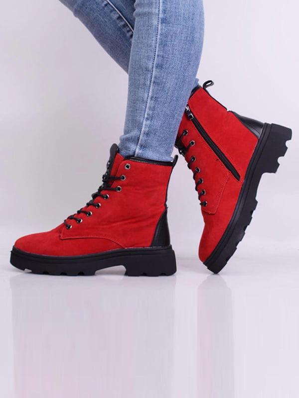 Ботинки красного цвета | 5650623