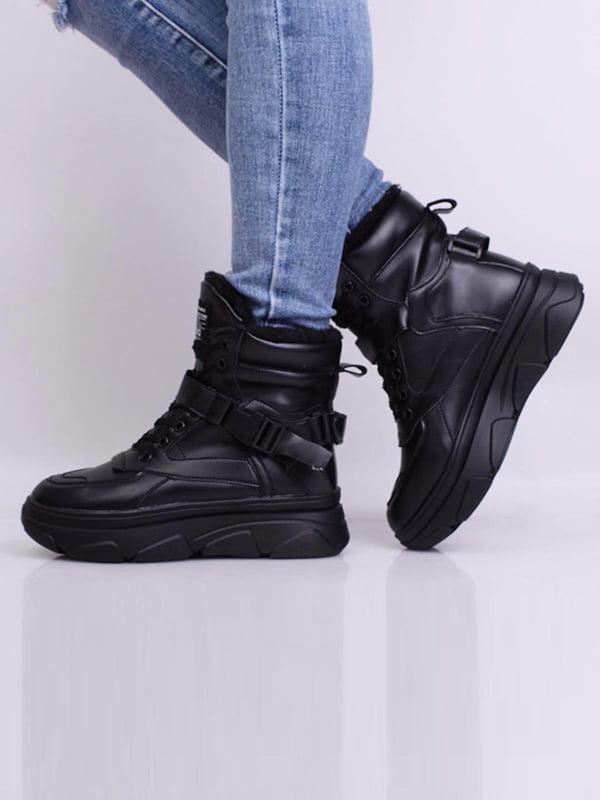 Ботинки черные | 5650626