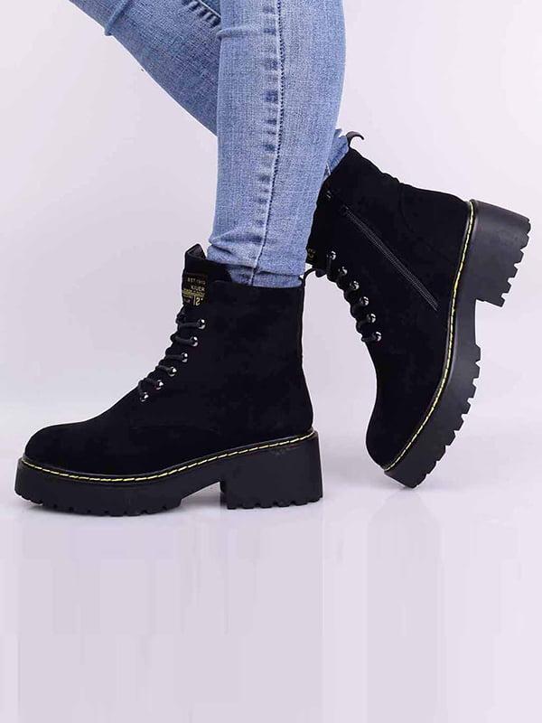 Ботинки черные | 5650704