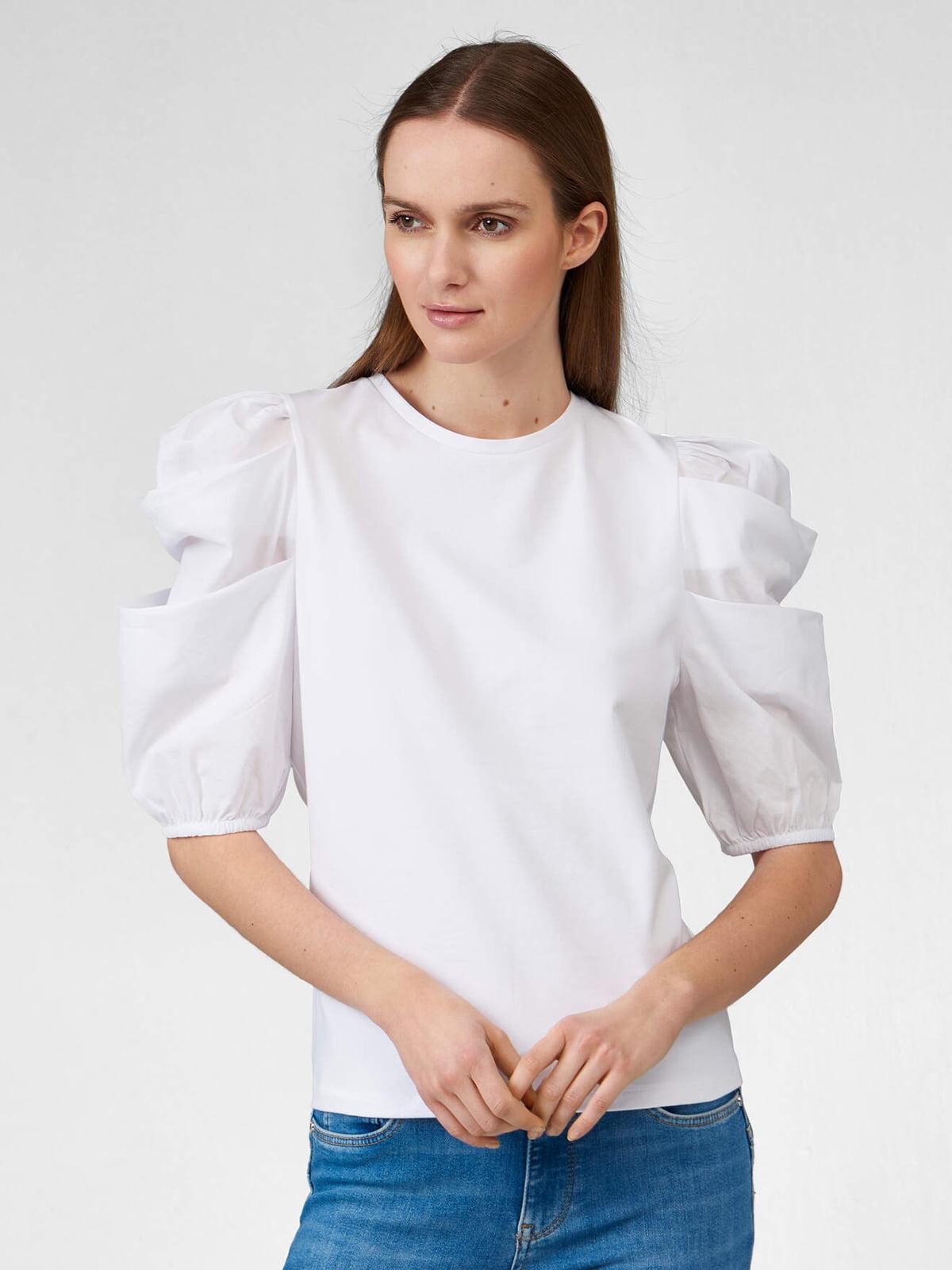Блуза-топ белая | 5647133