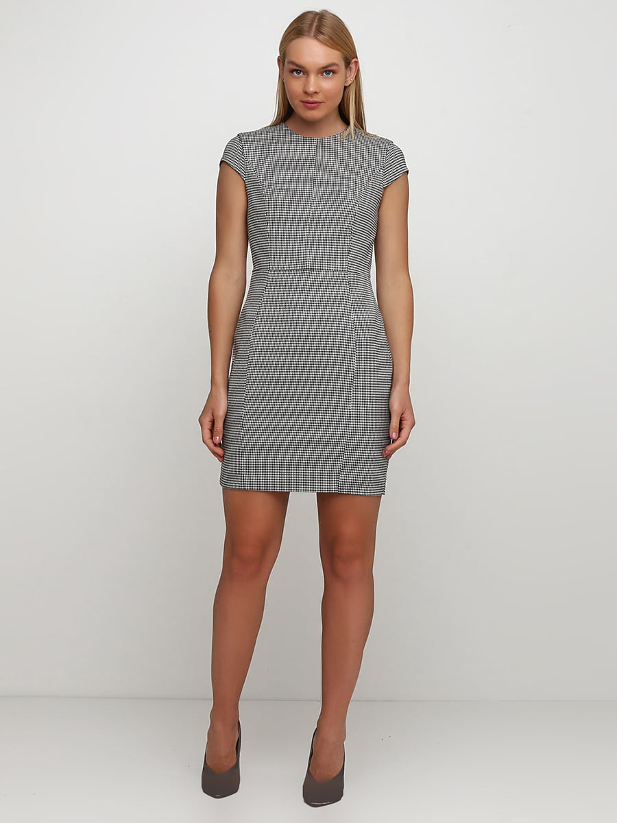 Платье черно-белое | 5651974