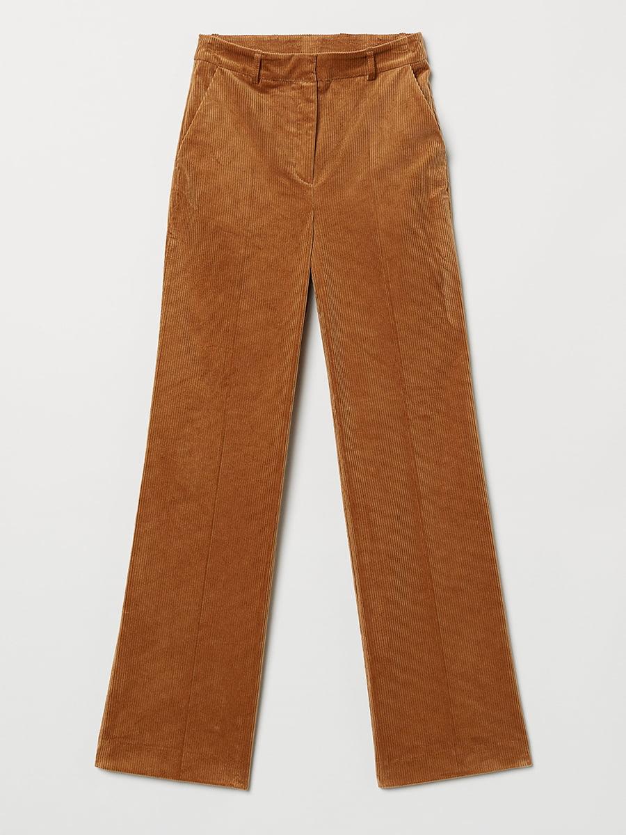 Штани коричневі вельветові   5652121