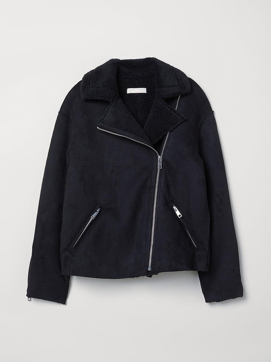 Куртка чорна | 5652183