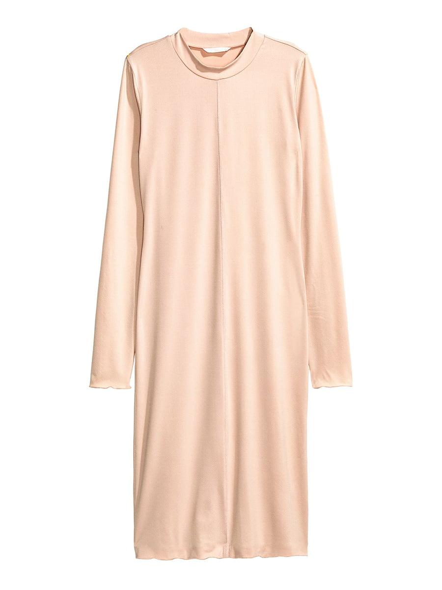 Сукня кольору пудри | 5652320