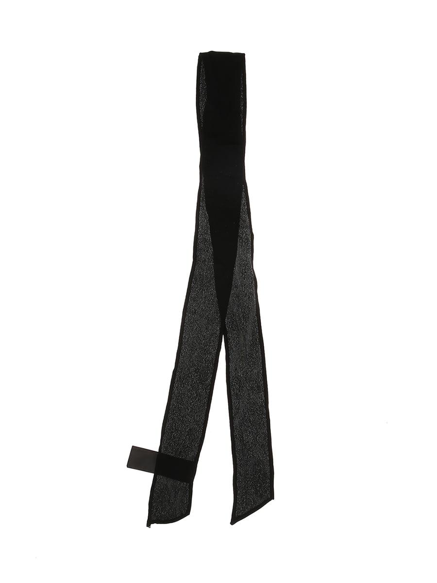 Повязка для волос черная | 5652909