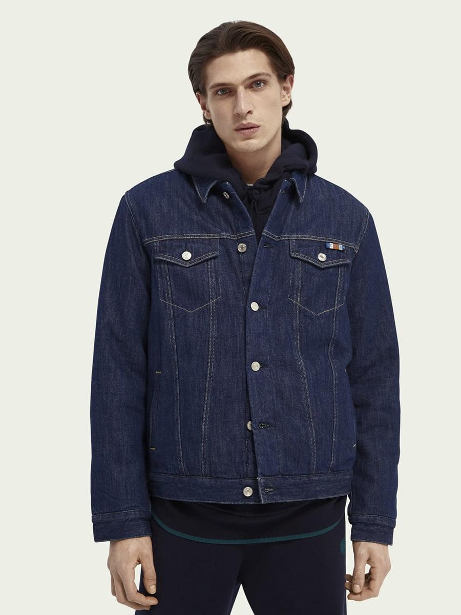 Куртка синяя   5647375