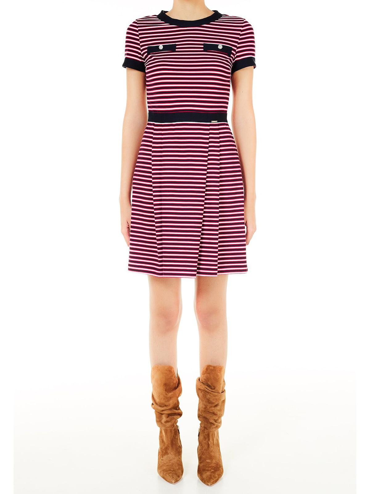 Платье в полоску   5656764
