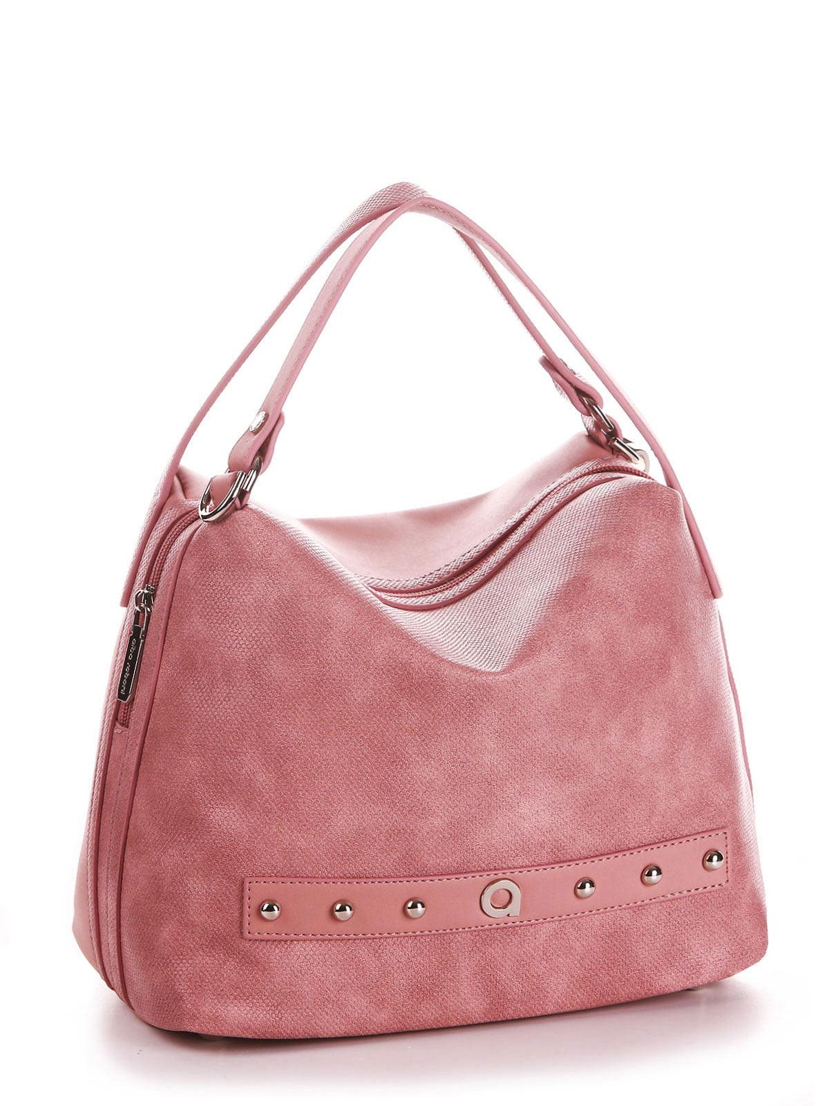 Сумка пудрово-розовая | 5657353