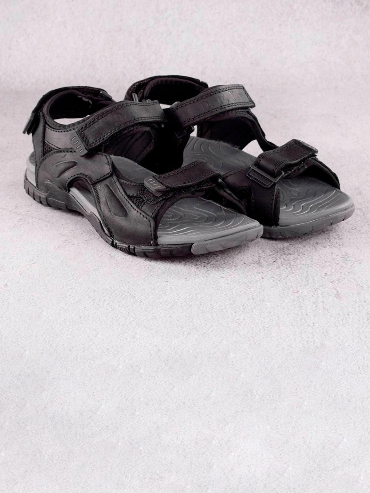 Сандалии черные | 5659379