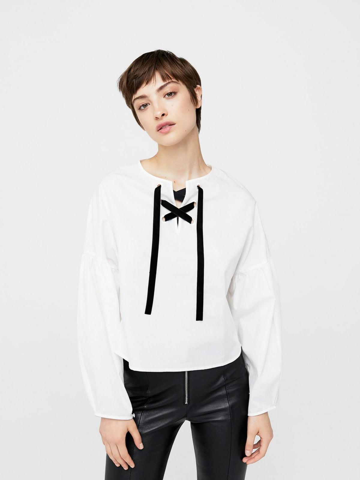 Блуза белая | 5535156