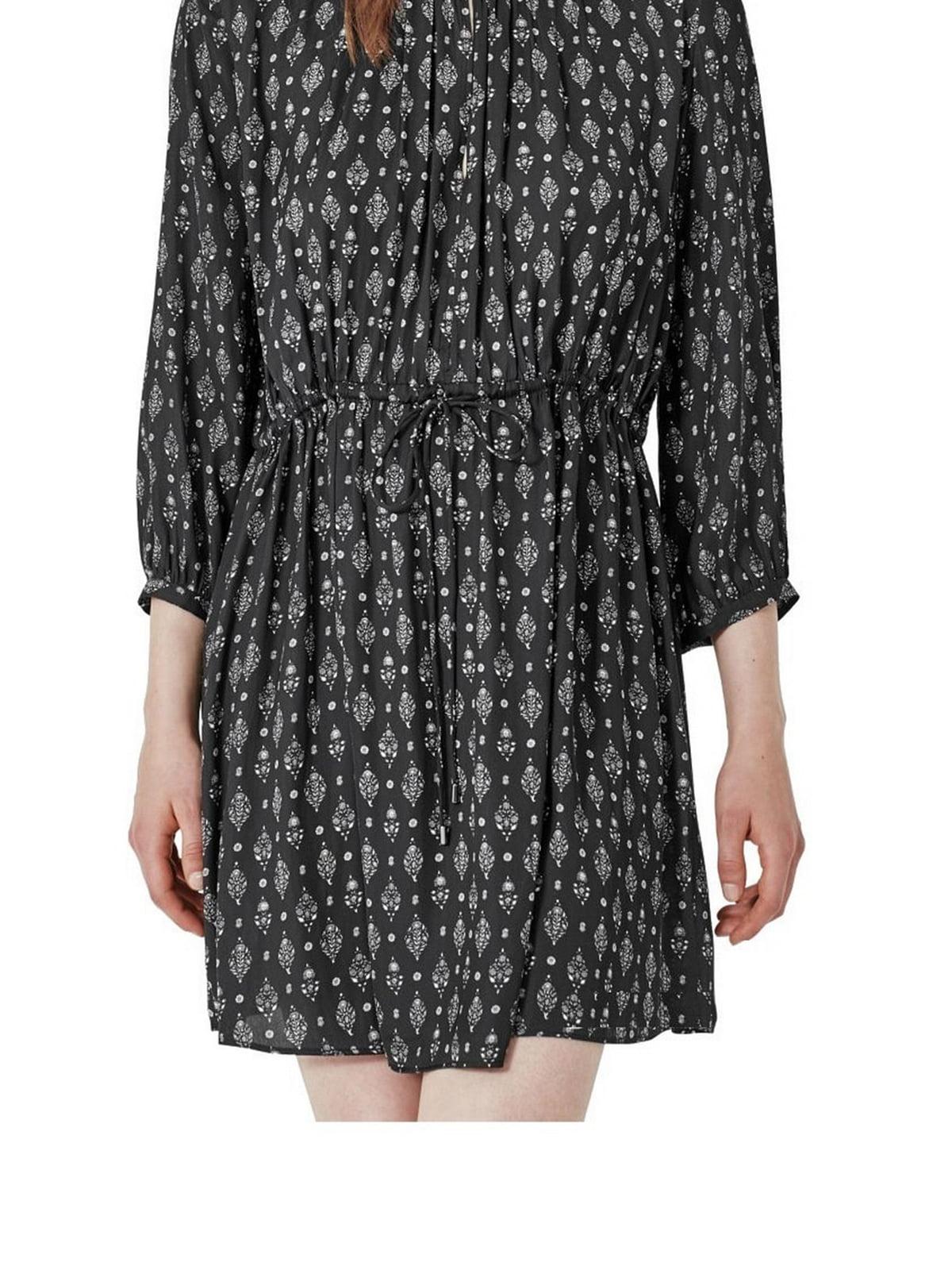 Платье черное в ромбы | 5658837