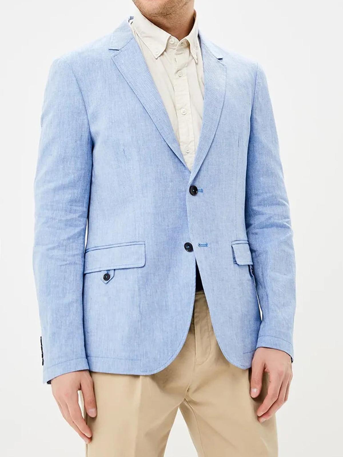 Пиджак голубого цвета | 5659010