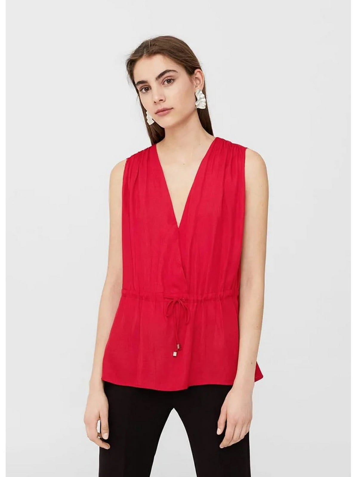 Блуза красного цвета | 5659144