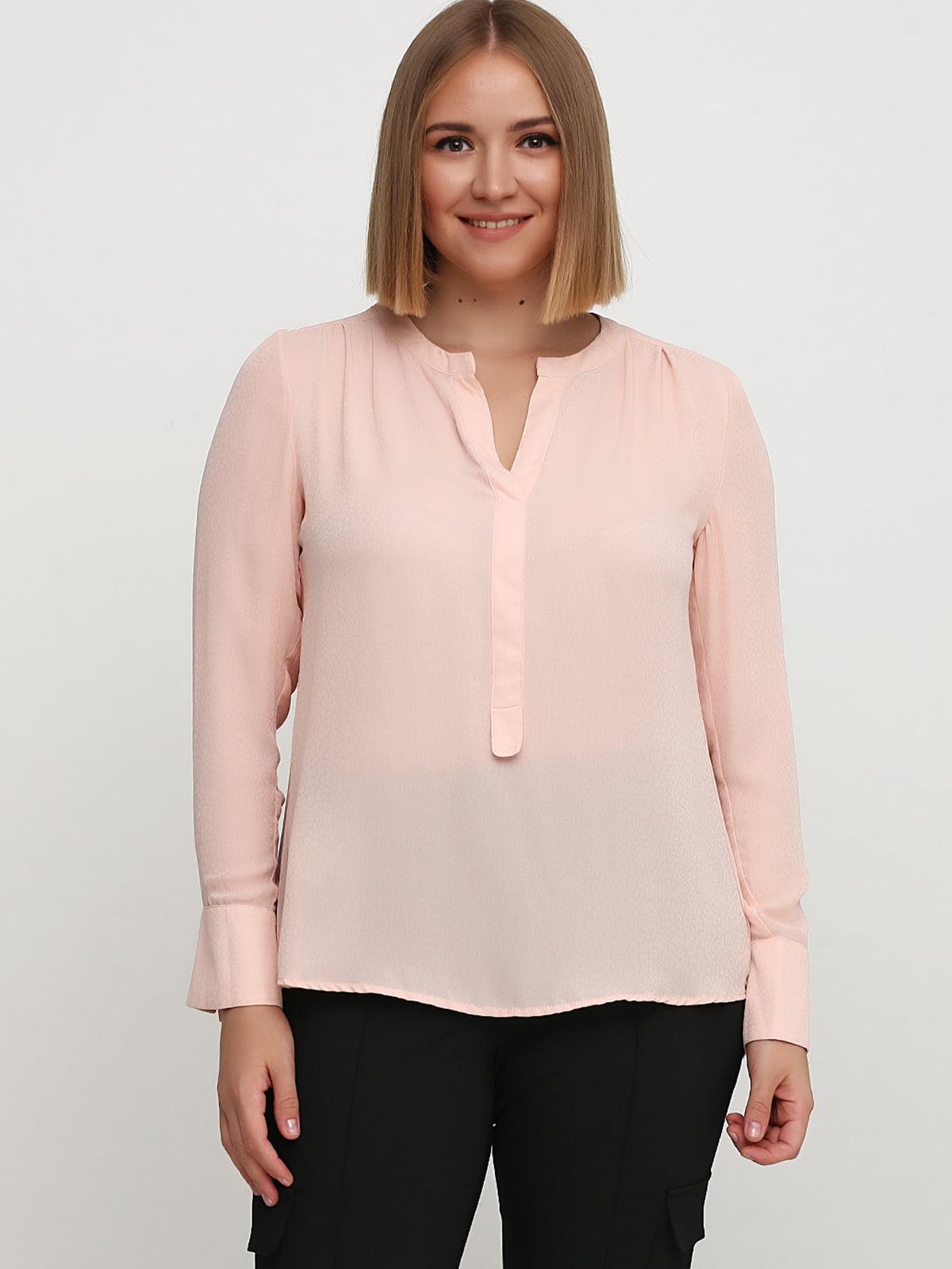 Блуза бежевого цвета   5659160