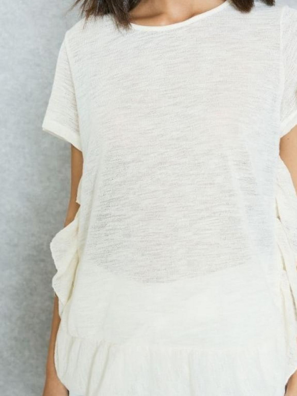 Блуза молочного цвета   5659228
