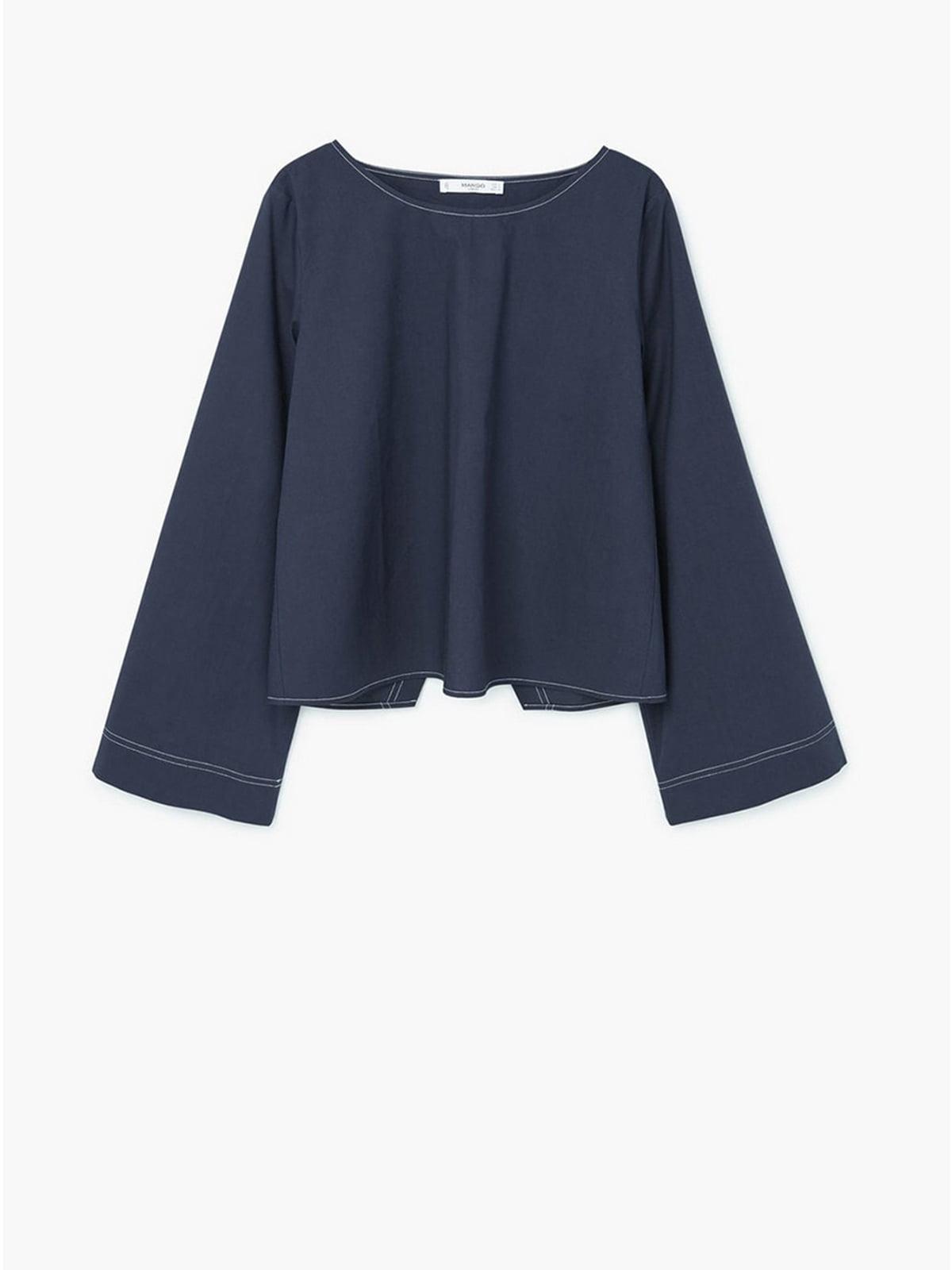 Блуза синя | 5659307