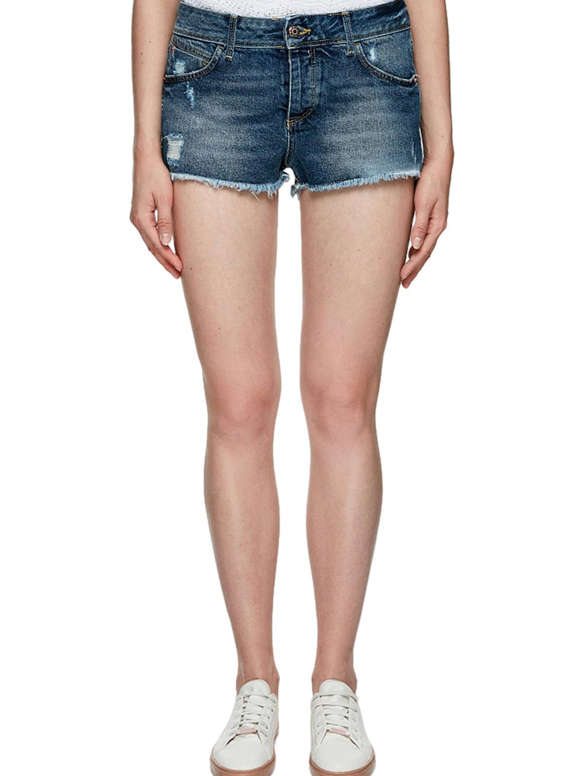 Шорты джинсовые синие | 5659618
