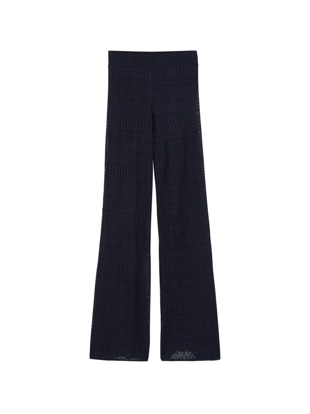 Штани сині з візерунком | 5660023