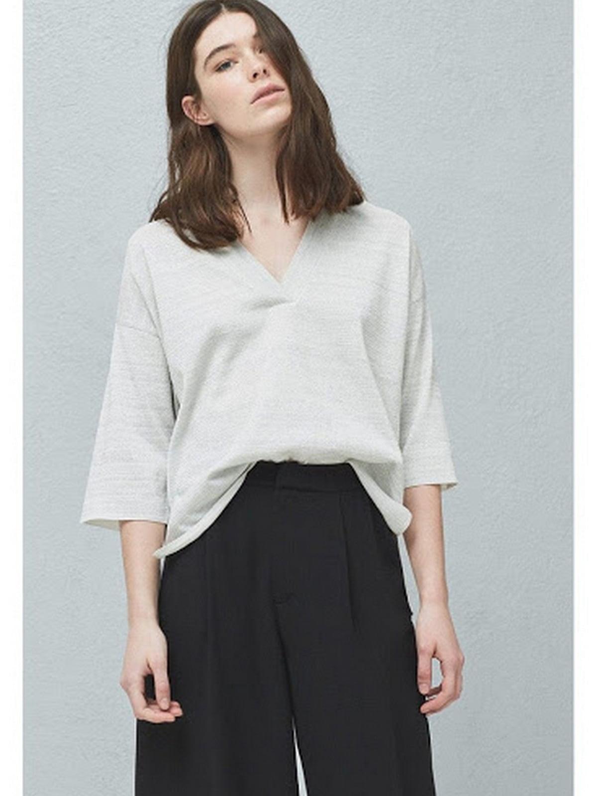 Пуловер белый | 5660430