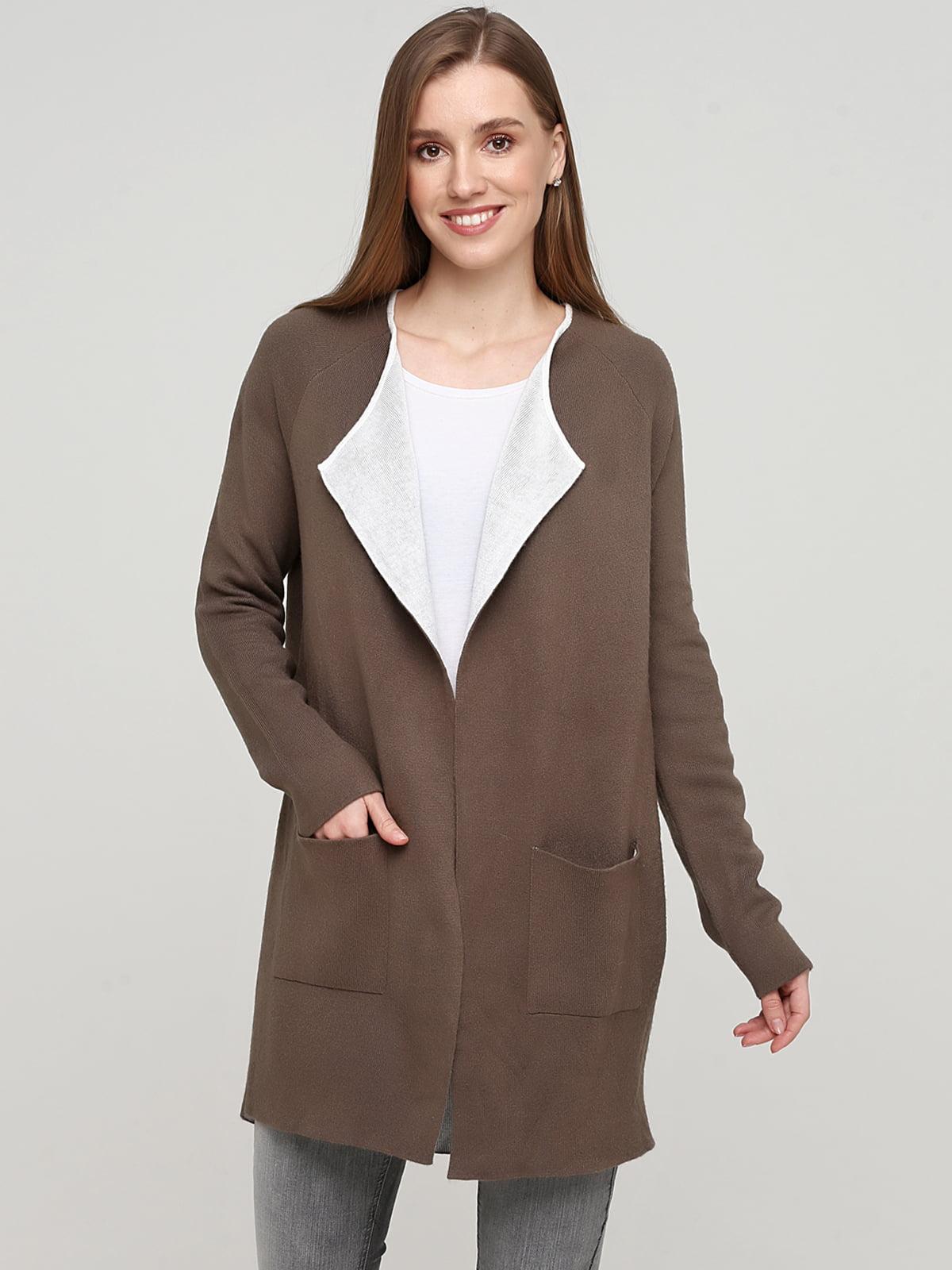 Кардиган коричневого кольору | 5660551