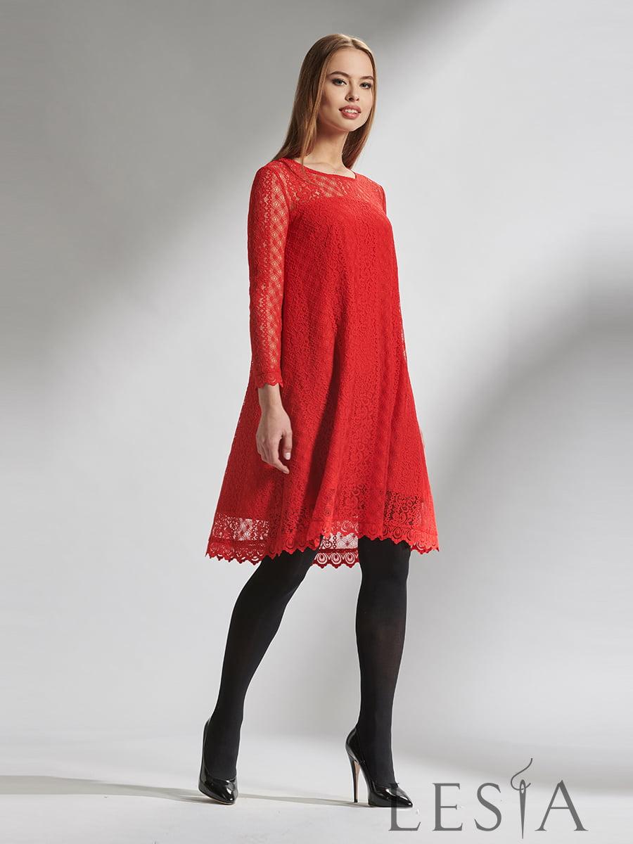Платье красное | 5115694