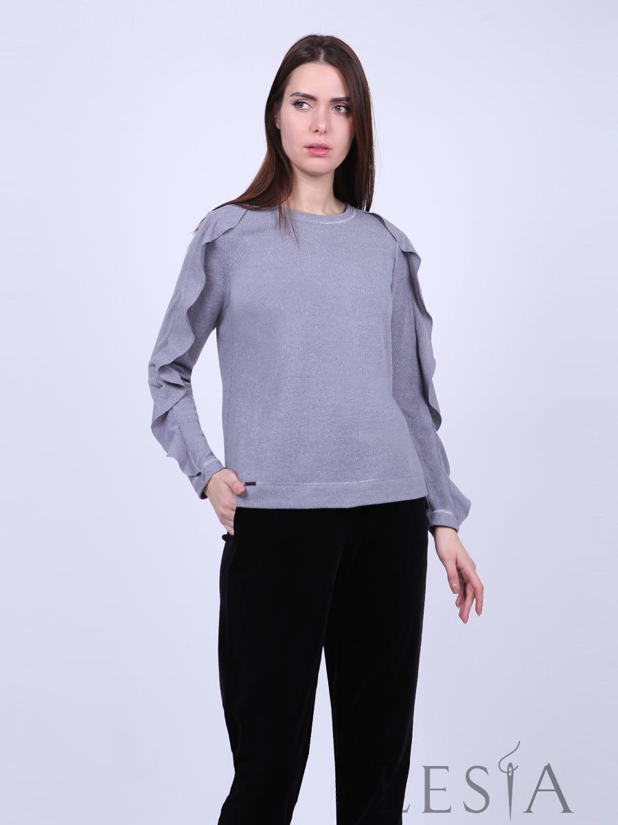 Блуза серая | 5304069