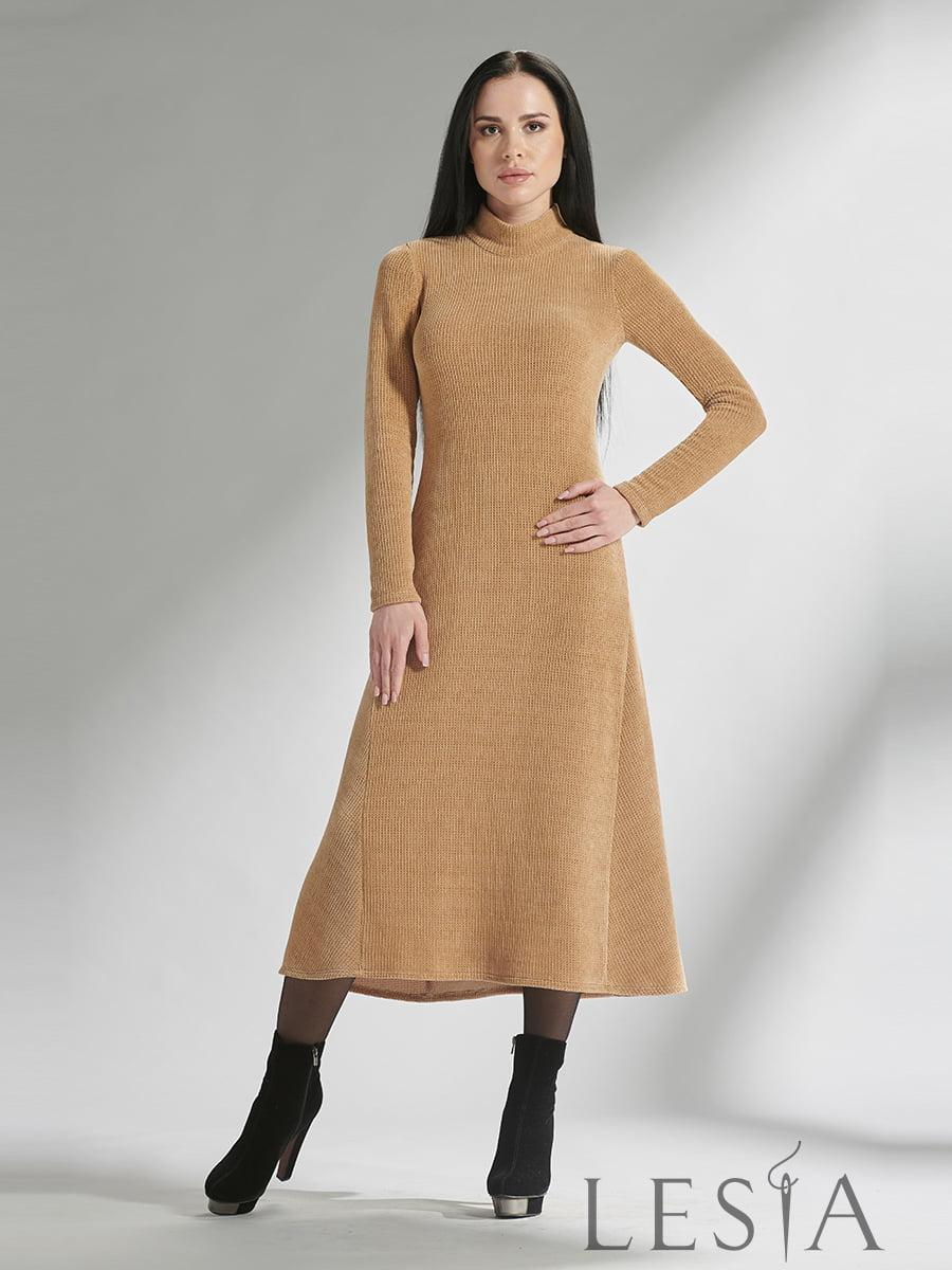Платье бежевое | 5304192