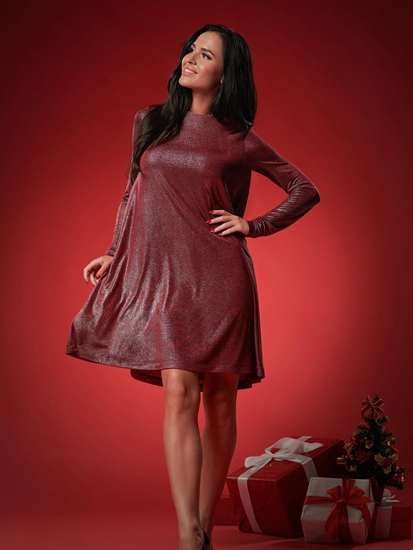 Платье бордовое | 5304199