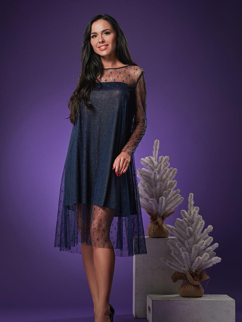 Платье синее | 5304240