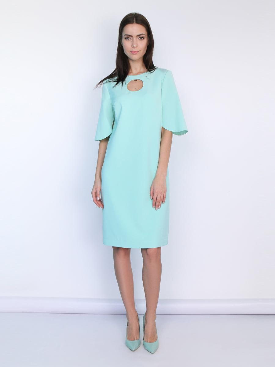 Платье мятного цвета | 5304252