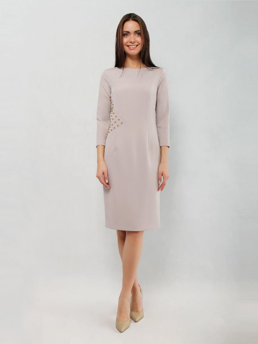 Платье серое | 5343269
